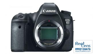 Cho Thuê Máy Ảnh Canon tại Hà Nội – Canon 6D