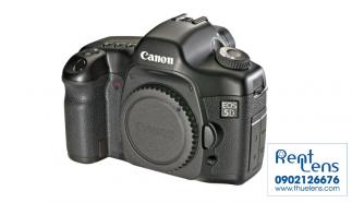 Cho thuê Body Canon tại Hà Nội – Canon 5D