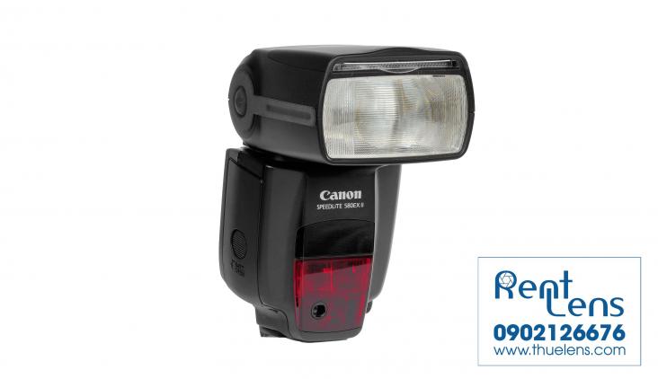 Phụ kiện máy ảnh:Cho thuê Flash Canon 580 EXII