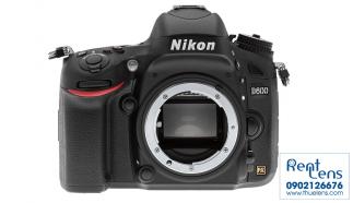 RentLens – Cho thuê Máy ảnh Nikon D600