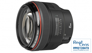Cho thue ong kinh – Lens Canon – Lens Canon 85mm f/1.2LII USM