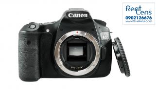 Cho thue Body Canon tai Hanoi – Canon 60D