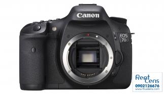 Cho thuê Canon tại Hà Nội – Canon 7D