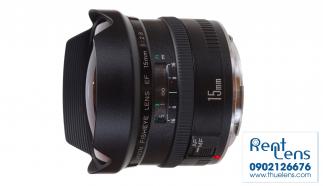 Cho thuê Lens Canon Hà Nội fisheye 15mm f/2.8