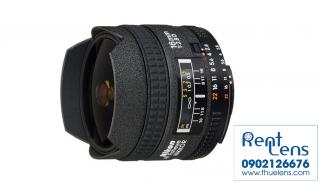 Thuelens – Cho thuê Lens Nikon Hà Nội Fisheye AF 16mm f/2.8 D