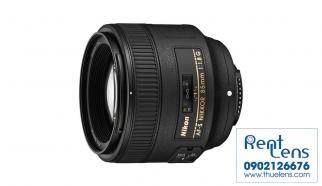 RentLens Cho thuê Lens tại Hà nội Nikon 85mm f/1.8 G