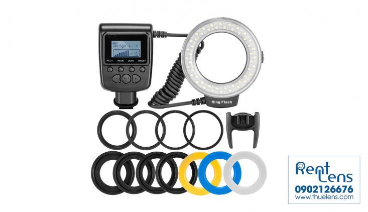 Phụ kiện máy ảnh:Cho thuê đèn - Led ring Flash