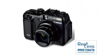 Cho thuê máy du lịch Canon – Canon Powershot G12