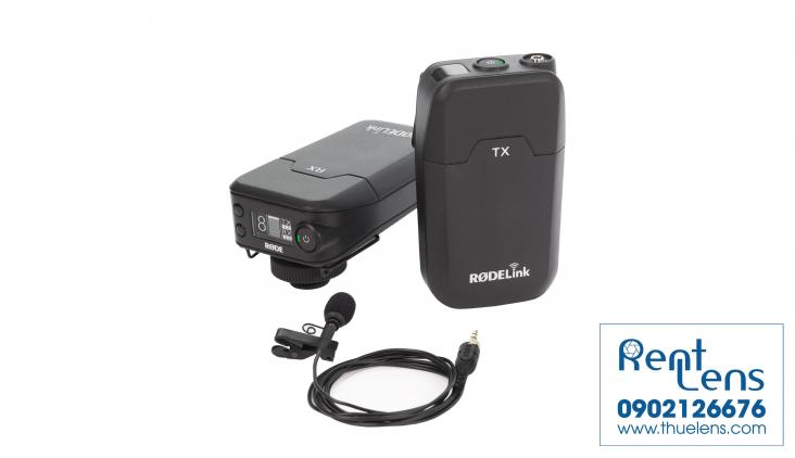Phụ kiện máy quay:Cho thuê Mic Cài Wireless Rode Link