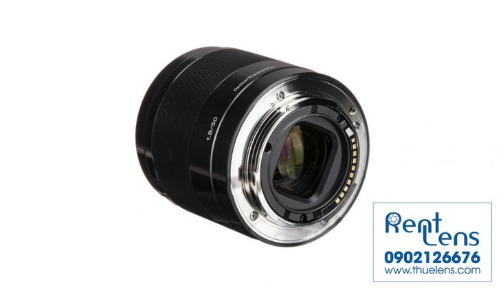 Ống kính máy ảnh - Lens:Cho thuê lens Sony tại Hà Nội- Sony E 50 f/1.8 tại Hà Nội