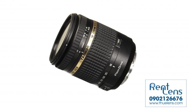 Ống kính máy ảnh - Lens:Thuê Lens tại Hà Nội - Tamron for Canon 18-270mm