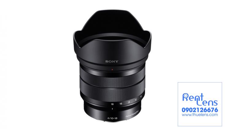 Ống kính máy ảnh - Lens:Cho thuê Lens Sony E 10-18mm F/4 OSS