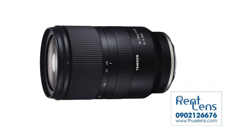 Cho thuê lens Sony:Cho thuê lens Tamron 28-75 f/2.8 for Sony