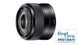 Cho thuê lens Sony E 35 f/1.8 Oss