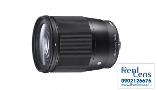 Cho thuê lens Sigma 16 f/1.4 for Sony