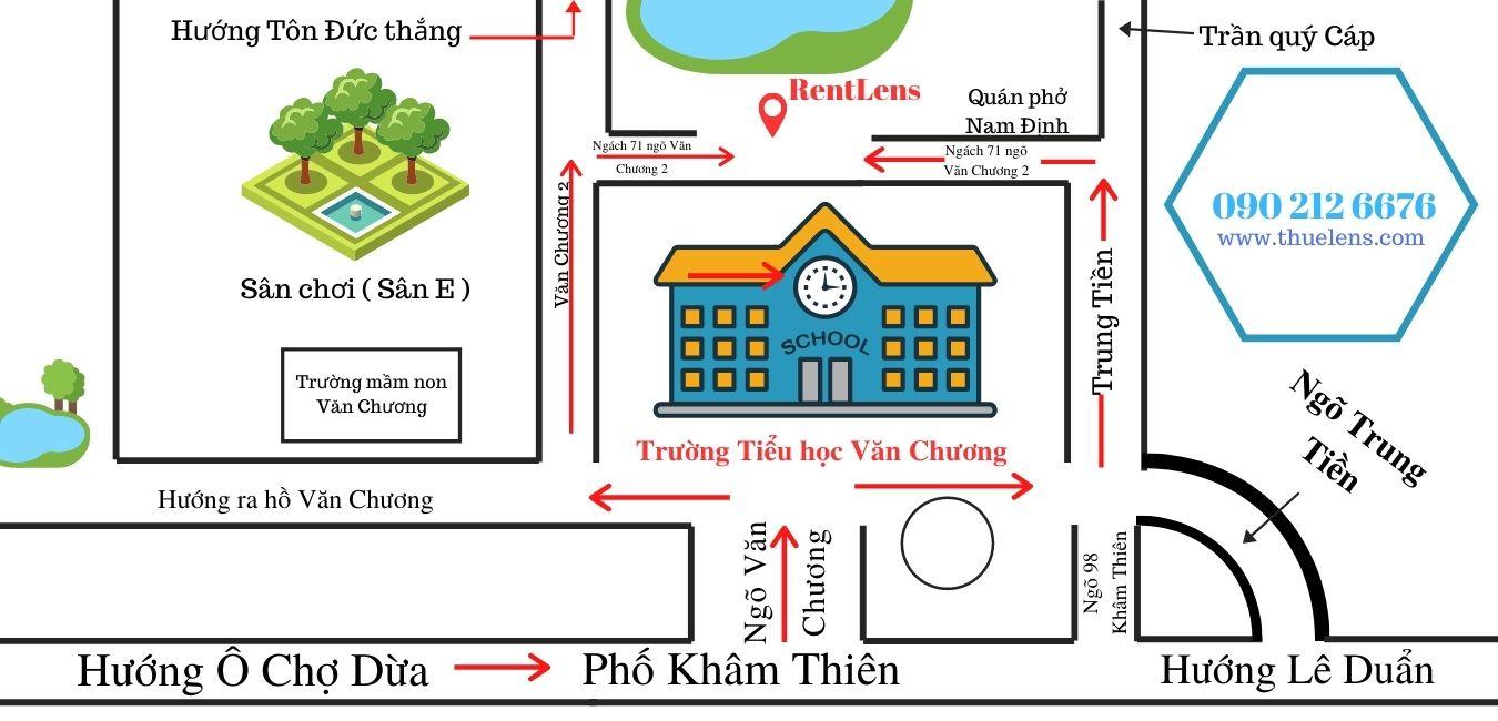 Bản đồ chi tiết